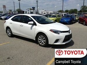 2015 Toyota Corolla LE--LOW KM'S--LOCAL TRADE--HEATED CLOTH