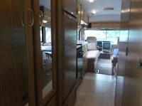 A mobile hotel, RV for rent
