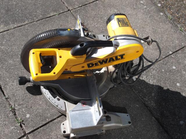 Dewalt Compound Mitre Saw DW/706GB Spares or repair arcing on motor  | in  Norwich, Norfolk | Gumtree