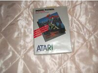 MOON PATROL SEALED CARTRIDGE ATARI 400 / 800 / XL /XE