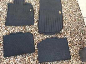 Car mats for mini, bought at bmw garage