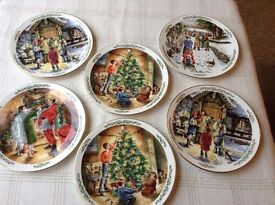 Royal Doulton christmas plates x 6 exc cond £30each new, bargain