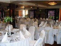 Unit full of CHAIR COVERS and SASHES