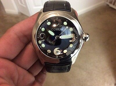 Corum Bubble Boutique Swiss Made 163.150.20 Black Dial Date Men's Watch