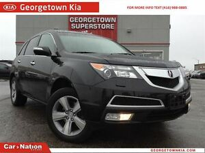 2013 Acura MDX LEATHER | ROOF | BACK UP CAMERA | ONLY 55,882KMS