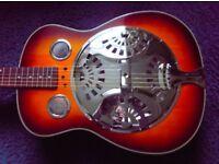 Stagg Square neck resonator slide guitar