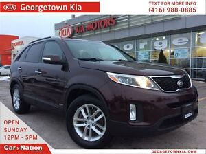 2014 Kia Sorento LX A.W.D | ONE OWNER ARRIVAL | FULLY SERVICED |