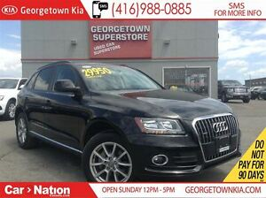 2014 Audi Q5 2.0Komfort|ALL WHEEL DRIVE|LEATHER|HEATED SEATS