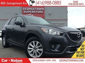 2015 Mazda CX-5 GS LEATHER  SUNROOF  BACK UP CAM  53,281KMS