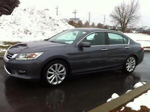 2013 Honda Accord Sedan TOURING - GPS / NAV - CUIR - TOIT - CAMÉ