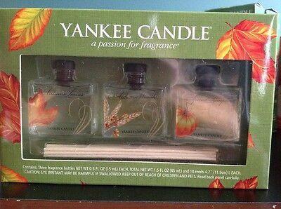 Yankee Candle Fall fragrance bottle set