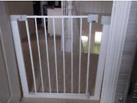 Unused metal Stair Gate