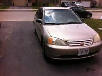 2001 Honda Civic 4 door