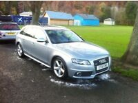 Audi A4 Avant S-Line, Full MOT no advisories