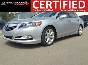2014 Acura RLX P-AWS | HEATED LEATHER | BLUETOOTH | BACK
