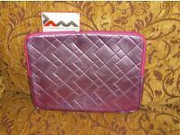Brand new with tab, JAM laptop/notebook case/sleeve,metallic pink