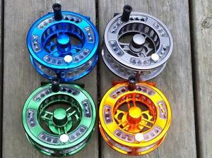 SKB-Cassette-Fly-Reel-With-2-Spare-Spools-Fly-Fishing-Fly-Reel-Trout