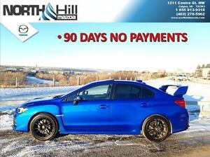2015 Subaru WRX AWD Sport Pkg 6sp 90 Days No Payments
