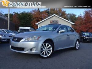 2009 Lexus IS 250 AWD w/Leather & Moonroof Pkg.
