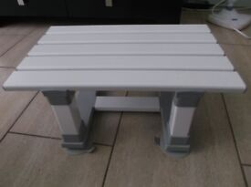 Merlin plastic, slatted bath seat. Used. In immaculate condition.