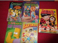 simpsons books