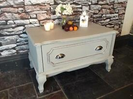 TV Cabinet Hand Painted Shabby chic