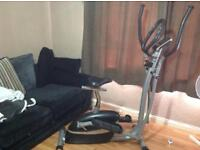 2 in 1 cross trainer and excercise bike