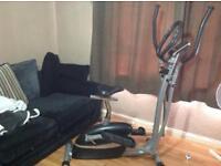 2 in 1 cross trainer an excercise bike