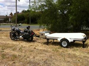 Motorbike  camper trailer Echuca Campaspe Area Preview