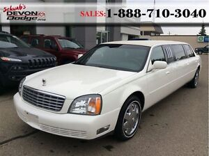 2002 Cadillac DeVille Coachbuilder: LOW KM, Rear Air, Stereo