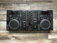 Pioneer 2 x CDJ350 + DJM350 (With Boxes)