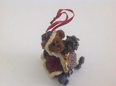Boyds Bears & Friends - Mr. Baybeary...2001 Wishes Ornament - Limited Edition