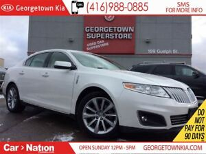 2012 Lincoln MKS LEATHER  ROOF  AWD  ECO BOOST