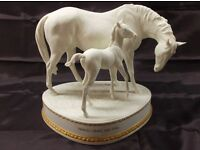 ROYAL WORCESTER Limited Edition Horse and foal called PRINCES GRACE and FOAL.