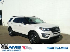 2017 Ford Explorer Sport 4WD with Moonroof, Adaptive Cruise and