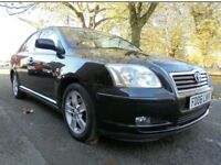TOYOTA AVENSIS 2006 T3X D4D 105000 FULL STAMPED SERVICE HISTORY 1 PREVIOUS OWNER EXCELLENT CONDITION