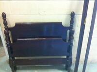 Solid cherry bed frame. Great condition