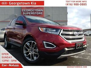 2016 Ford Edge Titanium | NAVI | LEATHER | ROOF | AWD | BACK UP