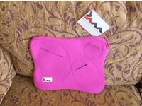 Brand new with tab, JAM neoprene laptop sleeve, bright pink