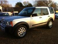Land Rover Discovery TD V6 7 seats (silver) 2008