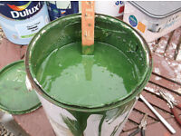1 tin of glasgow corpi bus paint green for sale