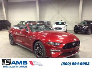2018 Ford Mustang GT Premium Convertible with Safe and Smart Pkg
