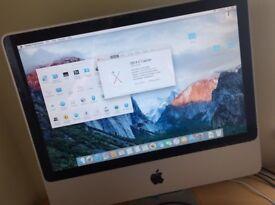 Apple Imac 20 inch, 2gb Ram, 250gb excellent condition, MB323LLA