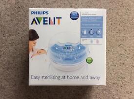 Philips AVENT bottle microwave steam steriliser