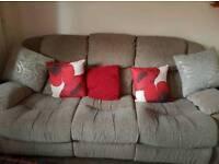 3piece recliner sofa n chairs