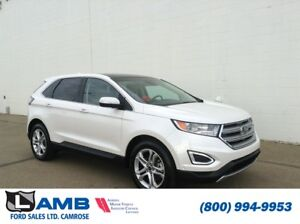 2015 Ford Edge Titanium AWD with Class II Trailer Tow, Intellige