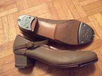 Angelo Luzio Leather Character Heels w/ Teletone Taps Size 6