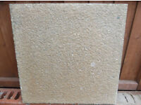 SAND COLOUR GARDEN SLABS