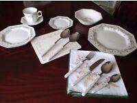 Eternal Beau 74 Piece Dinnerware