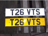 T26 VTS Private Number Plate Reg (Citroen Saxo, Xsara, C2, C3, C4, AX GT)